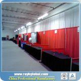 El tubo al por mayor de los productos y cubre la cabina de aluminio de la feria profesional del braguero de los kits