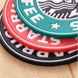 Циновка чашки силикона Starbucks конструкции модного выдвиженческого подарка одиночная