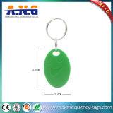 Controle de acesso sem contato impermeável RFID Keytag com 10 anos de resistência