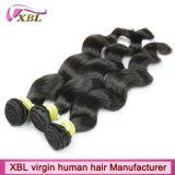 Weave brasileiro do cabelo do Virgin natural do cabelo humano