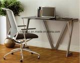 사무용 컴퓨터 책상 유리제 컴퓨터 책상 40008W2