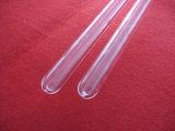 Tube en verre voûté de quartz d'espace libre de grande pureté