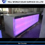 Contatore commerciale della barra di spremuta di disegno LED di 150 generi piccolo da vendere, disegno superiore del Governo di spremuta dei controsoffitti moderni della barra