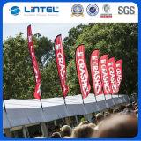 Bandeiras de venda quentes do vôo que anunciam a bandeira pólo (LT-17C)