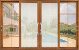 Doppia finestra di scivolamento di alluminio di vetro con lo standard dell'Australia