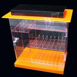 Gabinete de acrílico de encargo del estallido regalos estante de exhibición de escaparate (HY-YXD0041)
