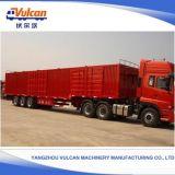 Wellen-hydraulischer Aufhebung-Kasten-LKW-halb Schlussteil China Soem-3