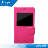 iPhone Samsung/HTC/Huawei/Alcatel를 위한 S View Flip Case