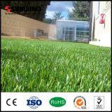 40mm PPE 수족관 훈장을%s 녹색 인공적인 잔디 잔디밭