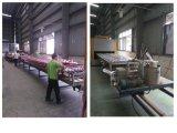 Grão de madeira perfil de alumínio de 70 séries para construir Mterial usado
