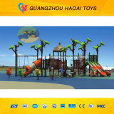 Popolare & Safe Outdoor Playground Equipment con Cimbing Wall (A-15062)