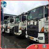 Low~Working~Hours verwendete Hino 700 Concrete~Mixer Cement~Transit mischenden LKW (2009~2012year)