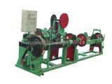 機械製造業者を作る有刺鉄線のデッサン
