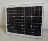 Mono módulo solar 50W em 18V para o sistema 12V