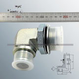 CE Approved 90 Degree Elbow Jic Male 74 Degree Cone Bsp Male O-Ring Hydraulic Fitting (1JG9)