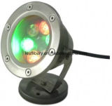 DC12V DMX RGB LED 6W Round Outdoor Underwater LED Lights für Fountains