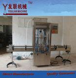 Relleno líquido automático del control del servomotor de la máquina de rellenar de Paste& de la salsa del petróleo/de la crema/de tomate de la miel de la goma de la viscosidad (GT4T-4G) 500-2800ml