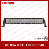 21.5 CREE Curved LED Light Bar di pollice 120W con High 750lux/10m (TLB3120X)