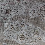 Tissus de broderie de lacet de voile de Mélanger-Couleur pour des accessoires de vêtements