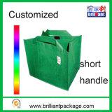 Любая ручка хозяйственной сумки бакалеи цвета многоразовая Non сплетенная кладет мешок в мешки Tote
