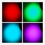 LEIDEN RGBW van de Wasmachine 18X10W van de muur Bewegend HoofdLicht