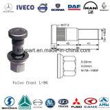 Volvoのトラックのハブのスタッドのナットのための車輪のボルト