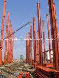 Tipo de acero edificio de acero industrial de la H-Sección de la estructura