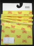 Законченный бабочка 100% красного цвета ткани поплина хлопка ткани напечатанная персиком желтая