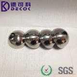 Het vervaardigde Beeldhouwwerk van het Gebied Ss304, de Glanzende Holle Ballen van het Metaal/Hemisferen