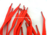Custom Kids Online Oval Red Shoe Laces