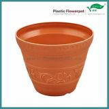 Pote de flor de plástico esculpido (KD2601-KD2603)