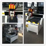 máquina de trituração pequena do CNC da madeira 3D 6090