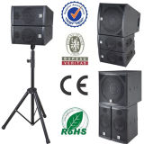 Sistema Monitor Audio + Mini Line Array altavoz altavoces Activa