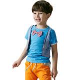 T-shirt de duas partes falsificado do algodão de 2016 verões para Little Boy