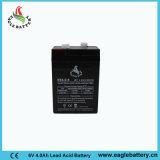 batteria libera del AGM SLA di manutenzione VRLA di 6V 4ah per indicatore luminoso