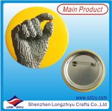 Pin de la solapa de la hojalata de la divisa del botón de la divisa del Pin de metal de la historieta