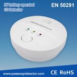 Peasway 9V En50291 증명서를 가진 건전지에 의하여 운영하는 일산화탄소 검출기 CO 경보 (PW-918W)