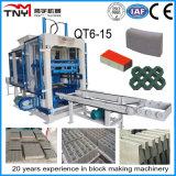 Nuovo blocco vuoto concreto progettato Qt12-15 che fa macchina