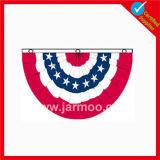 Флаг изготовленный на заказ окна декоративный плиссированный с картиной вышивки