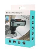Transmissor Handsfree do jogador de MP3 FM do carro de Bluetooth com os carregadores duplos 5V/2.1A do carro do USB e o isqueiro adicional do cigarro do carro (BC09B)
