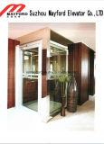 Малый личный домашний лифт для персоны 2 с защитным стеклом
