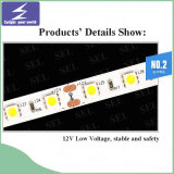 Luz de tira flexible de DC12V SMD5050 LED