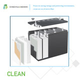 Separador del AGM de la fibra de vidrio para la célula de plomo