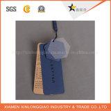 Modifiche di caduta dell'indumento del panno del foro della stringa della carta kraft di stampa del contrassegno