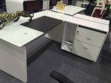 Lecong는 1.6m MDF 현대 사무실 유리 테이블을 주문을 받아서 만들었다