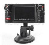 HD 1080Pのダッシュカム二重カメラ車DVR