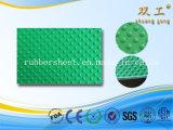 Циновка резины картины кнопки малого листа стержня резиновый круглая