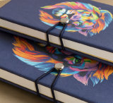 Custom Printing PU Leather Notebooks com bolso