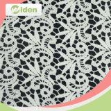 Tissu chimique de lacet de configuration géométrique de lacet de broderie de coton