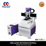 Gravador plástico Vct-4030A da máquina de estaca do projeto novo de Hefei China mini